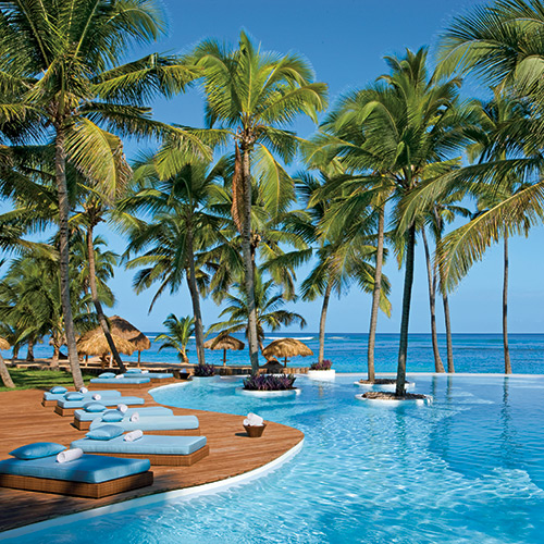 Infinity pool at Zoetry Agua Punta Cana