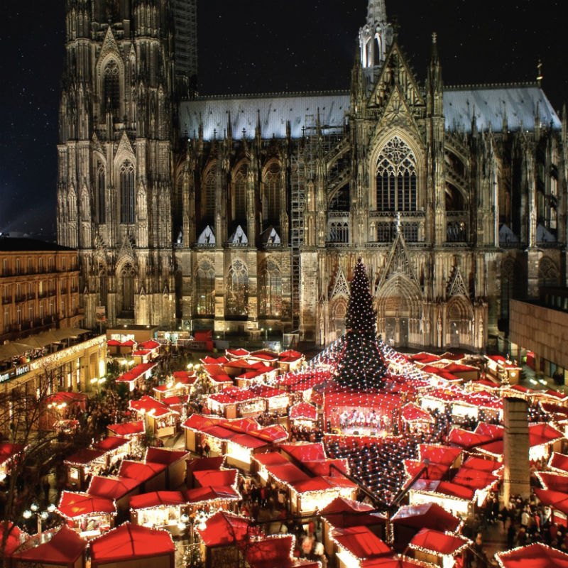 german Cologne Cathedral Christmas Market