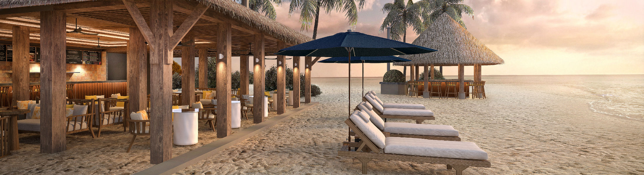 Athiri Beach Club at the Faarufushi Maldives