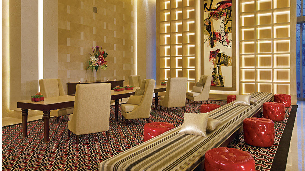Lobby and concierge at Secrets The Vine
