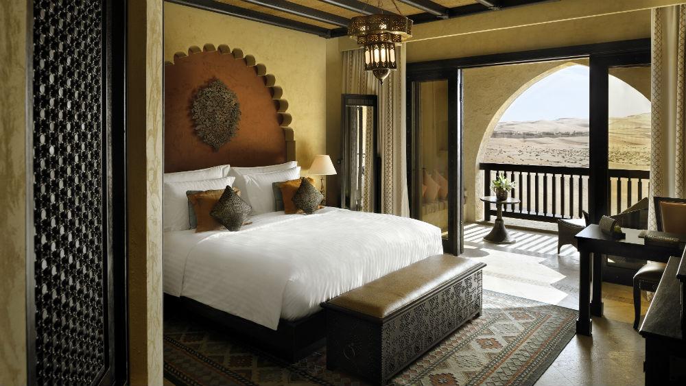 Deluxe Balcony Room at the Qasr Al Sarab Desert Resort