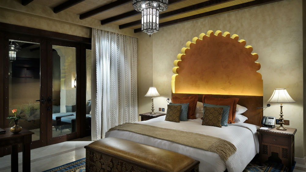 Deluxe Garden Room Night at the Qasr Al Sarab Desert Resort