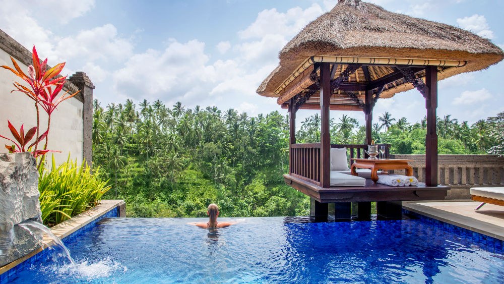 Deluxe Terrace Private Pool at the Viceroy Bali