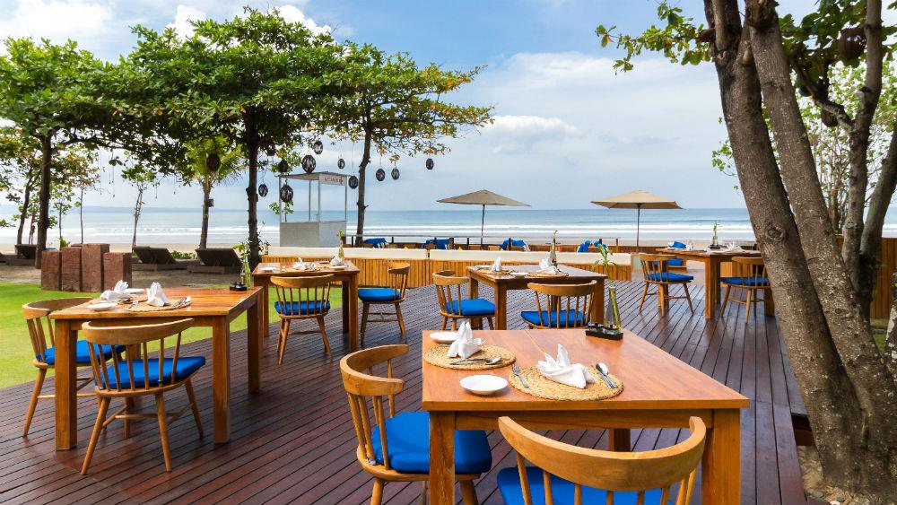 Dining Restaurant at the Anantara Seminyak Bali