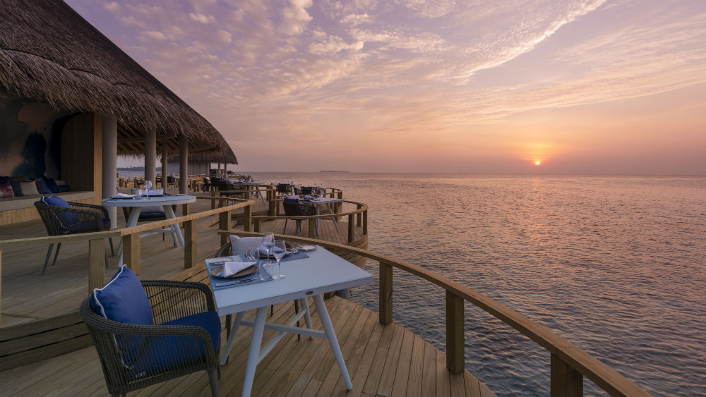 Eclipse Sunset Dining at the Faarufushi Maldives