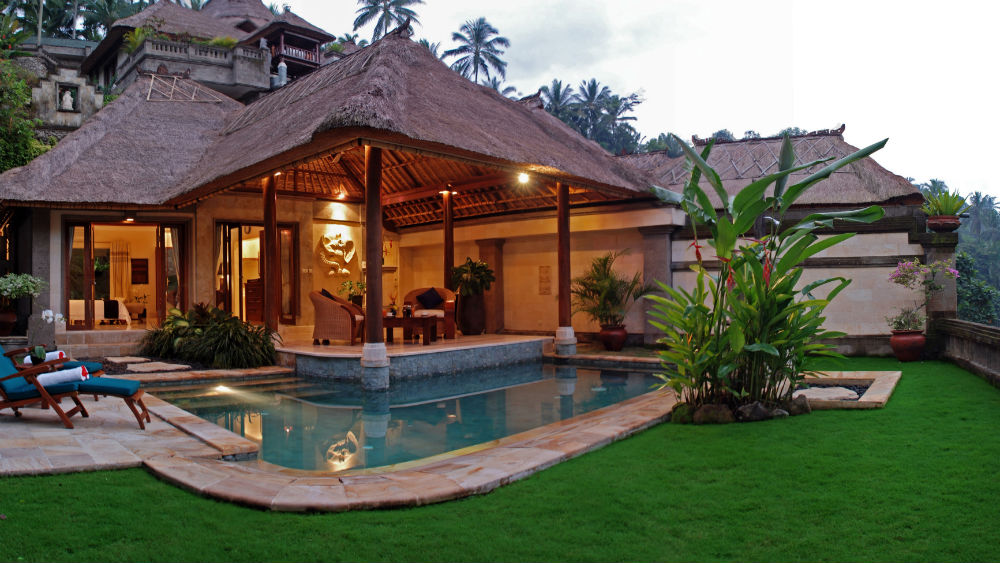 Elephant Villa Exterior at the Viceroy Bali