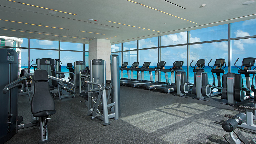 Fitness Centre at Secrets The Vine