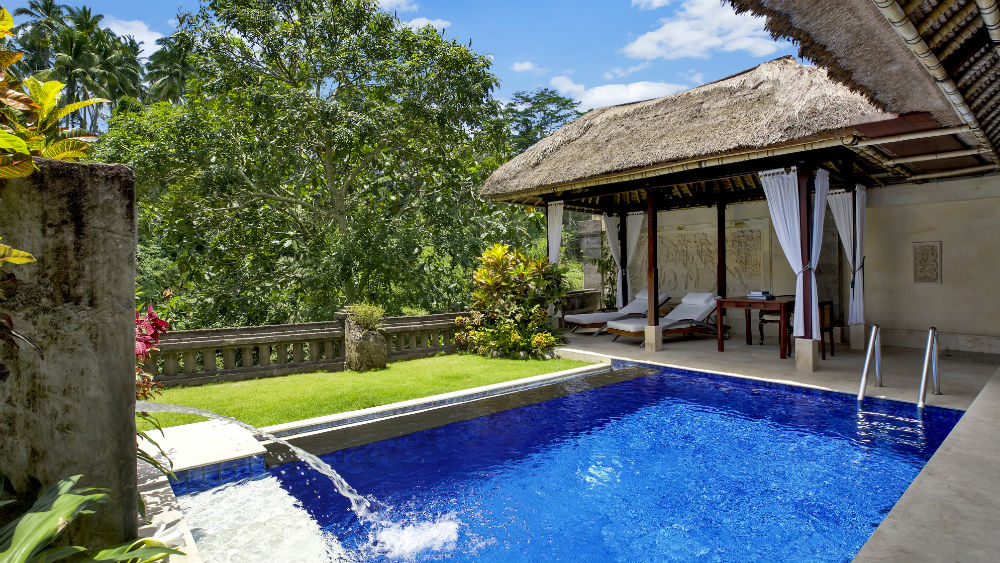 Garden Pool Villa Swimming Pool at the Viceroy Bali