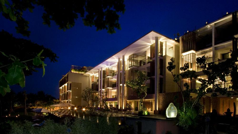 Hotel Exterior at the Anantara Seminyak Bali