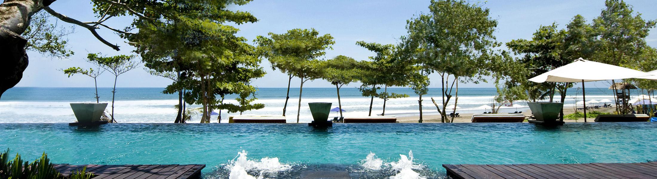 Infinity Pool at the Anantara Seminyak Bali