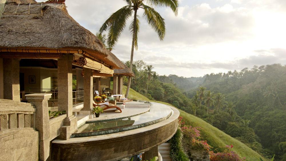 Lembah Spa Exterior at the Viceroy Bali