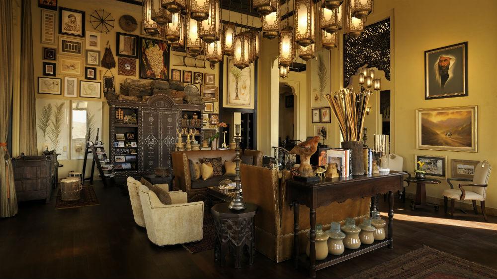 Lounge Area Qasr Al Sarab Desert Resort