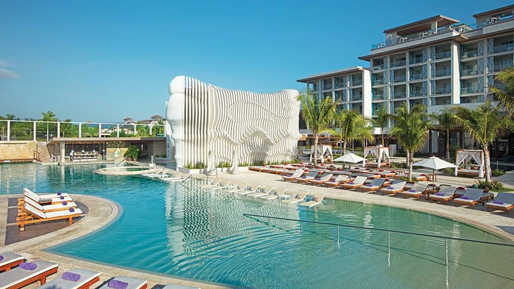 Main pool at Breathless Montego Bay