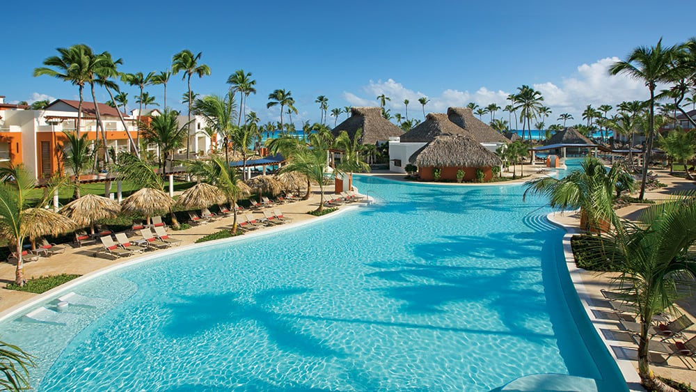 Main pool at Breathless Punta Cana