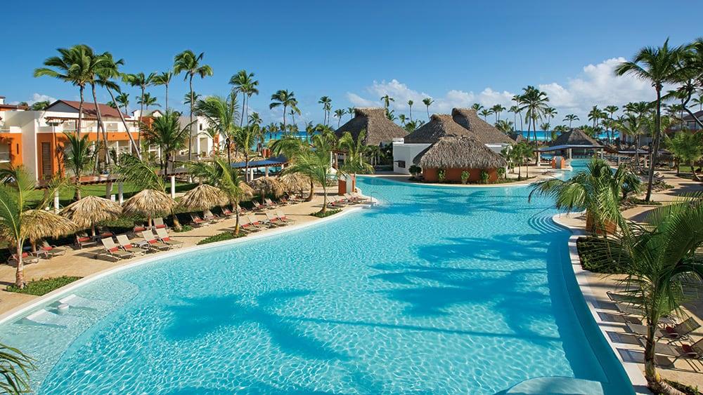 Main pool at Breathless Punta Cana