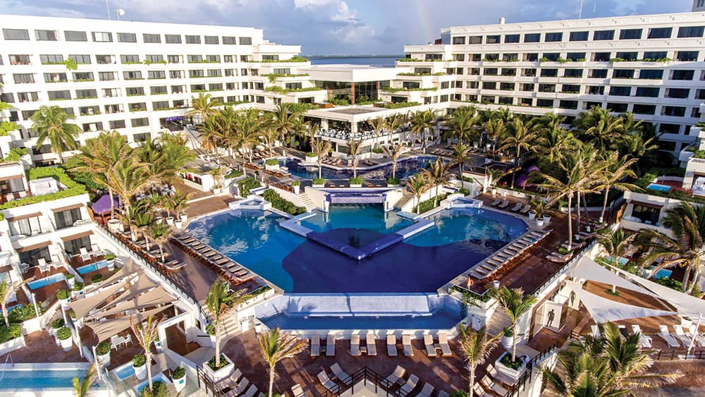Main pool and resort at Now Emerald
