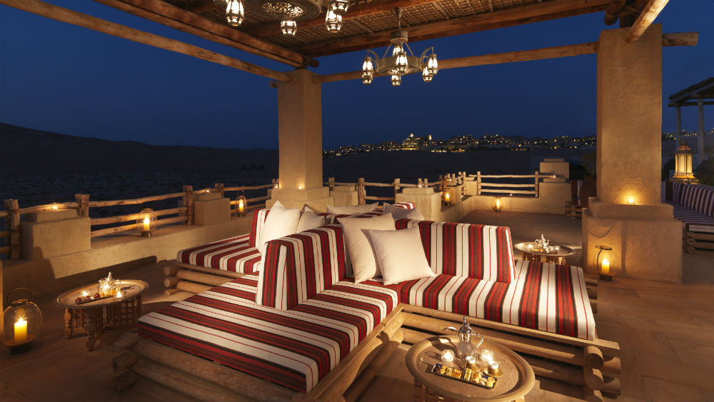 Majlis Terrace Qasr Al Sarab Desert Resort
