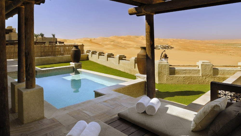 One Bedroom Anantara Pool Villa at the Qasr Al Sarab Desert Resort