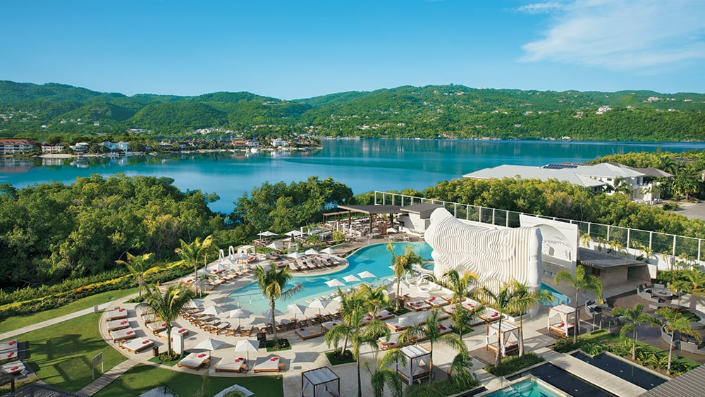 Aerial view of Breathless Montego Bay
