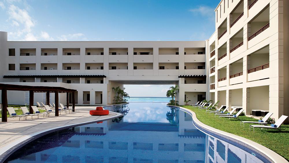 Main pool at Secrets Silversands Riviera