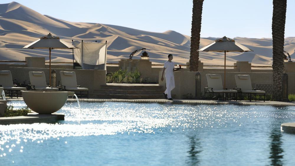Pool Service Qasr Al Sarab Desert Resort