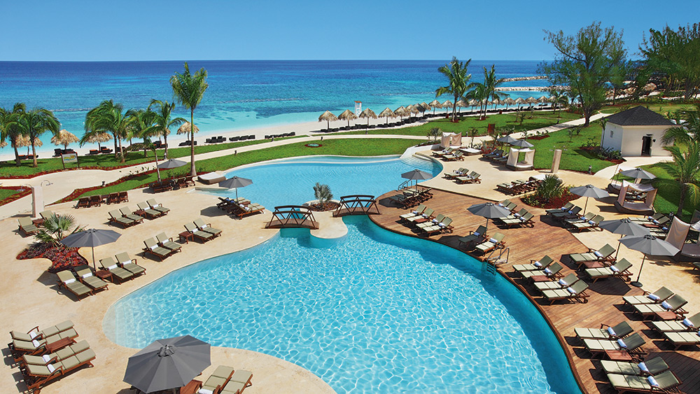 Pool for Preferred Club guests at Secrets St James