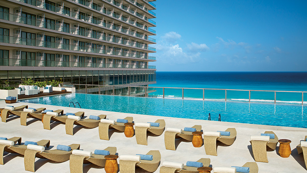 Preferred Club pool exclusively for Preferred Club guests at Secrets The Vine