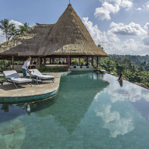 Relax by Main Pool at the Viceroy bali