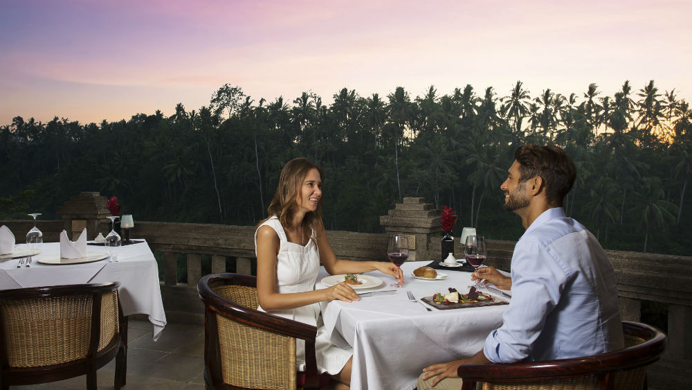 Romantic Candlelight Dinner at the Viceroy Bali
