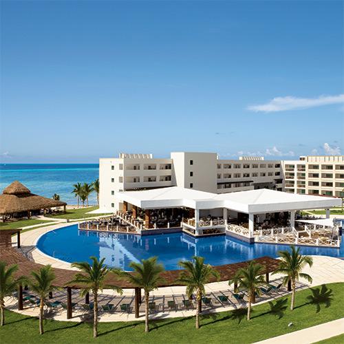 Aerial view of Secrets Silversands Riviera Cancun