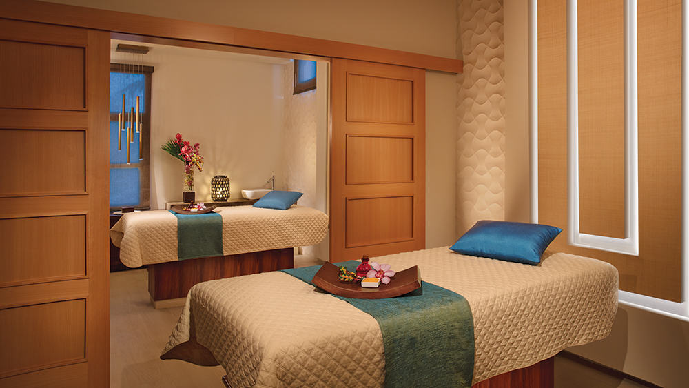 Treatment tables at Breathless Montego Bay