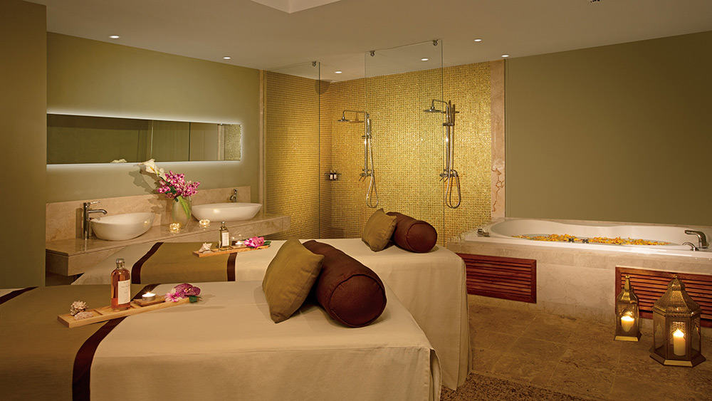 Treatment roomat the spa at Breathless Punta Cana