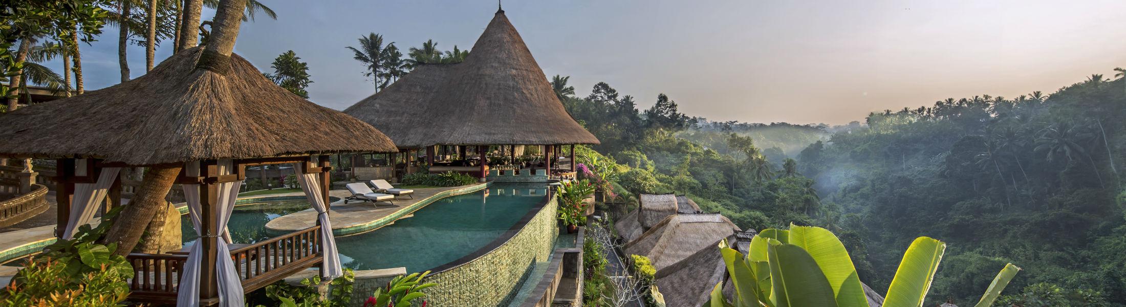Sunrise at Viceroy Bali at the Viceroy bali