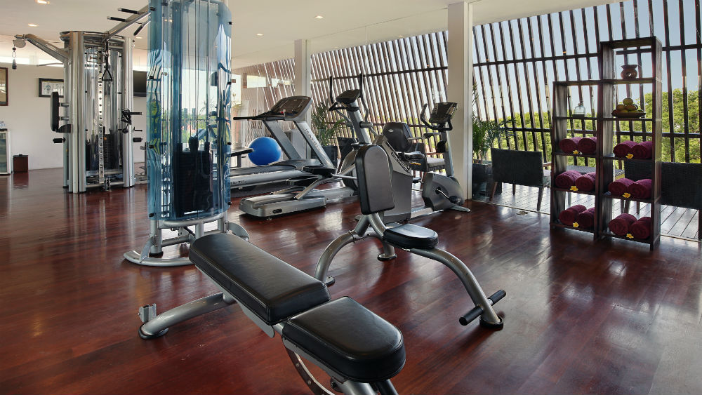 fitness centre at the Anantara Seminyak Bali