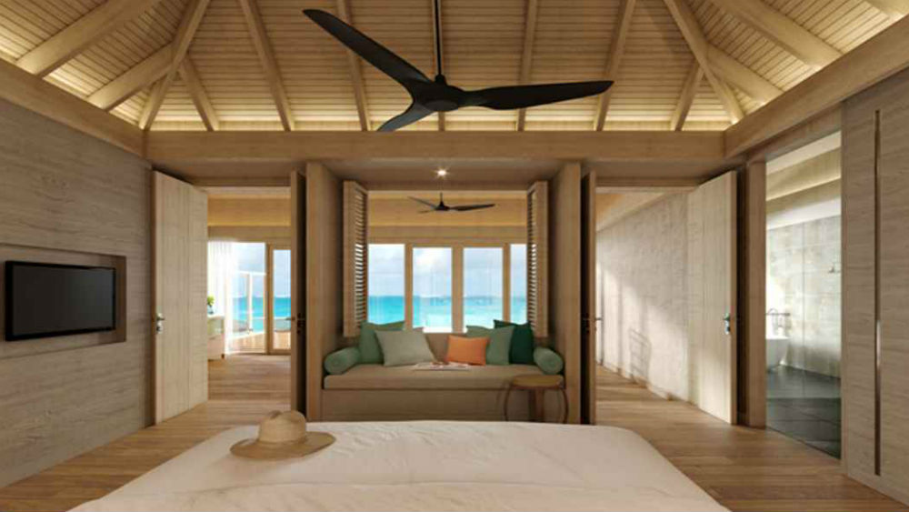 ocean suite at the Faarufushi Maldives