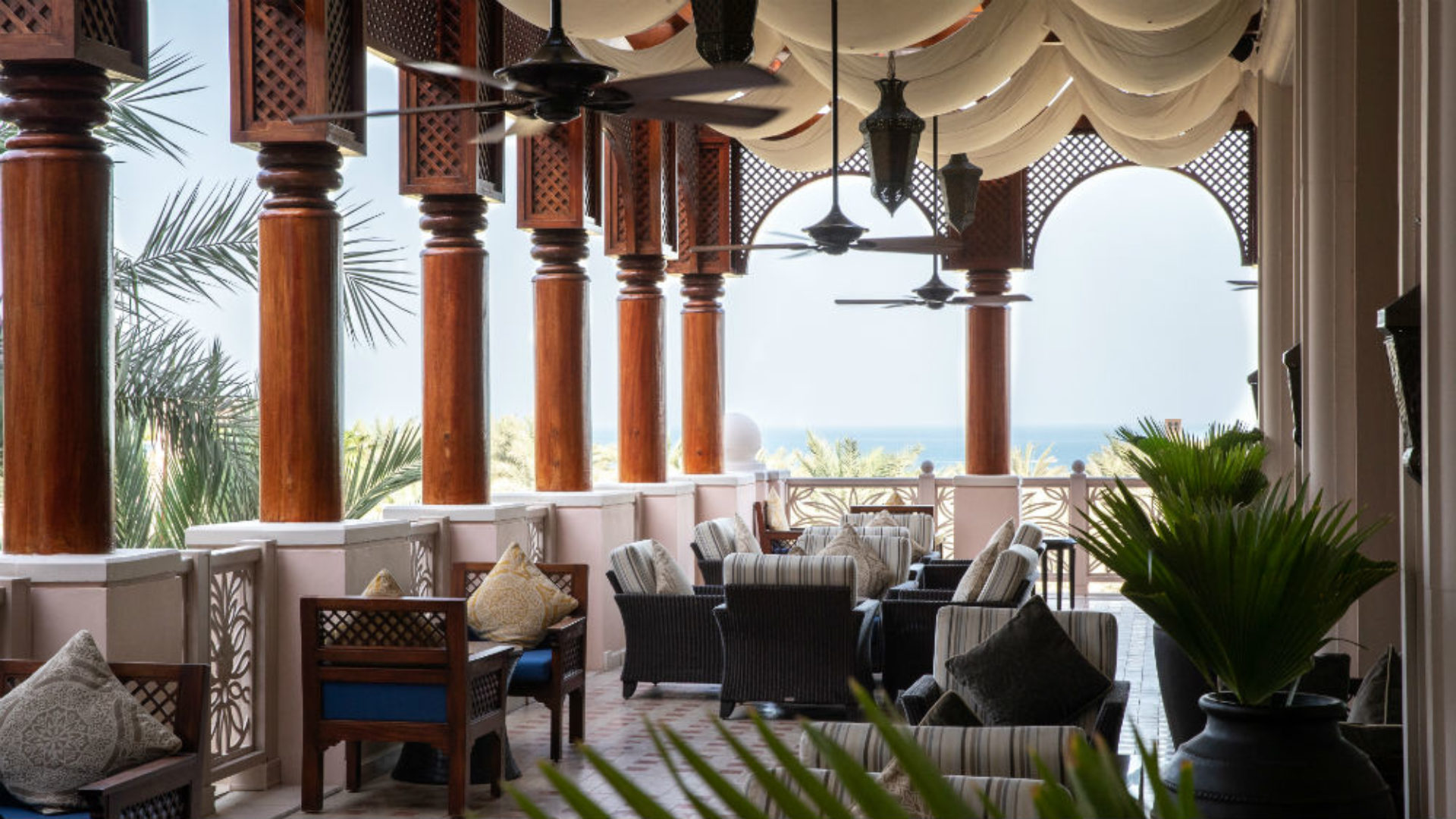 Al Fayrooz Lounge at the Jumeirah Al Qasr