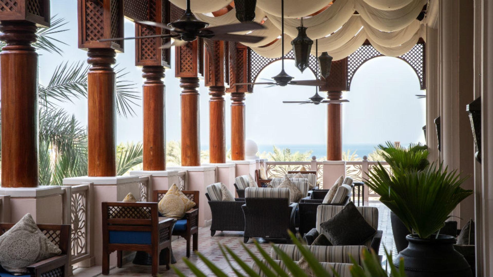 Al Fayrooz Lounge at the Jumeirah Al Qasr