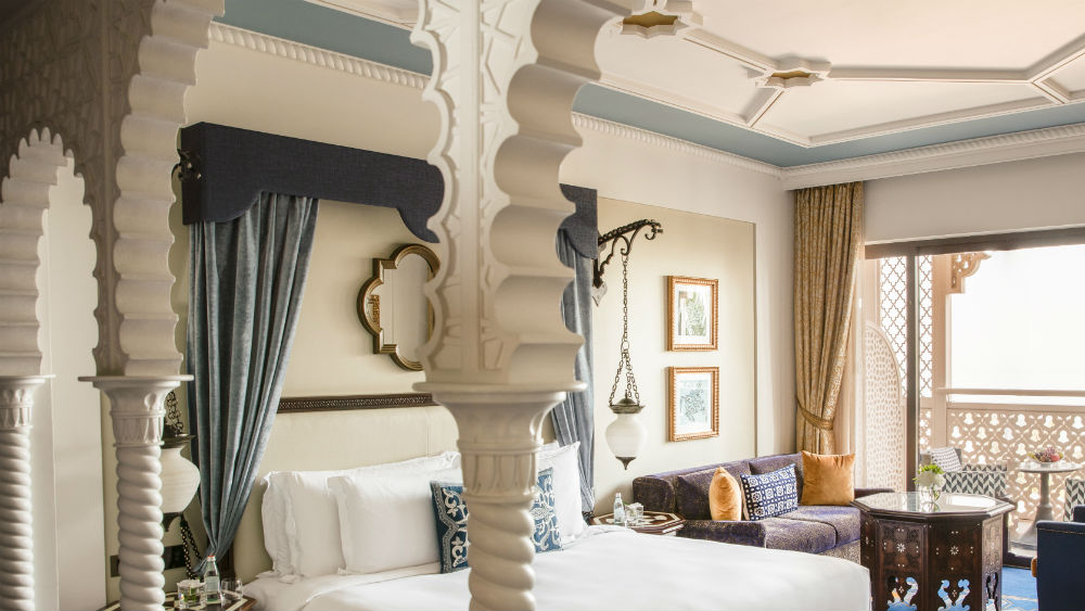 Arabian Club Room at the Jumeirah Al Qasr