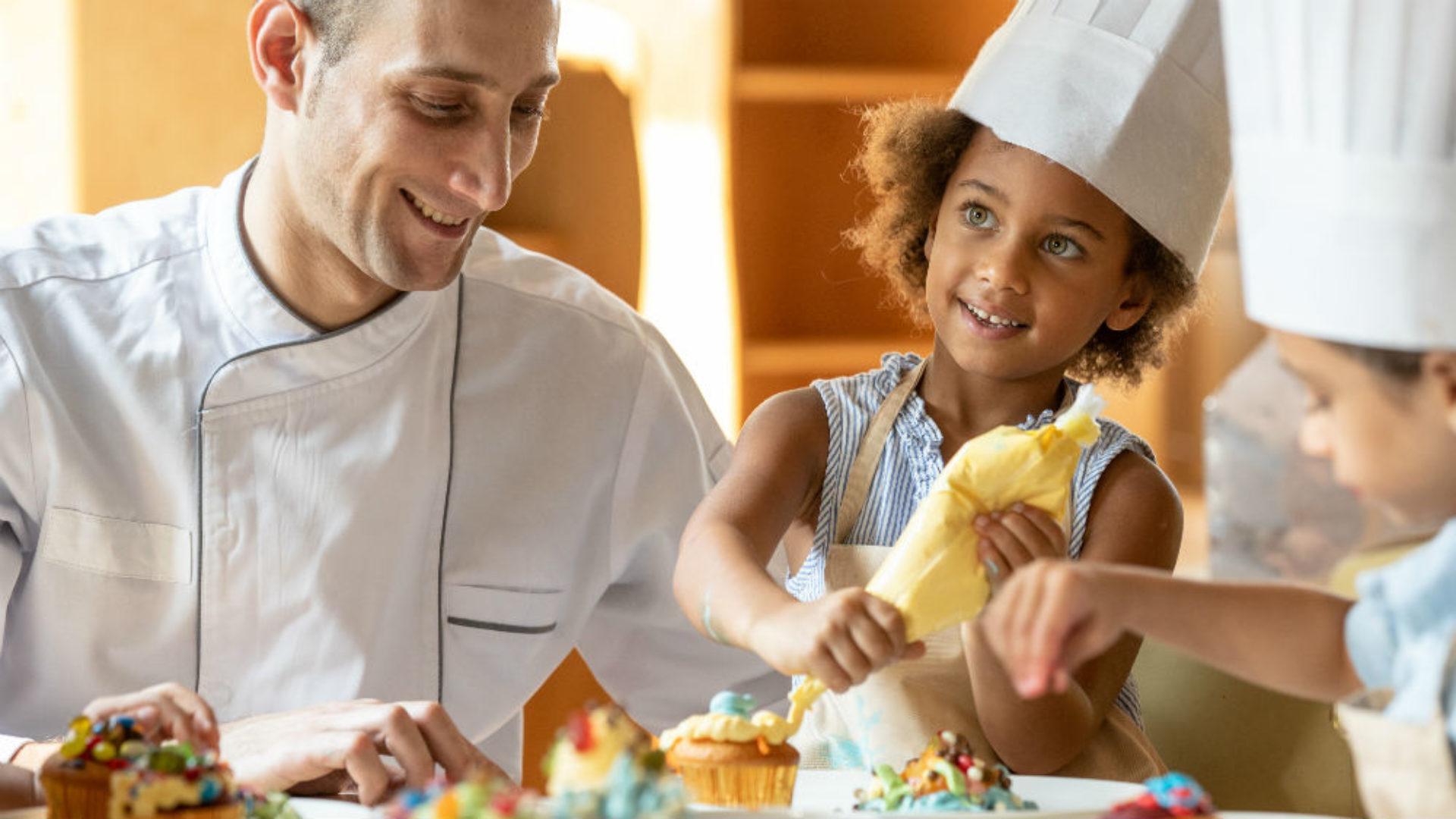Cooking for Kids at the Jumeirah Al Qasr