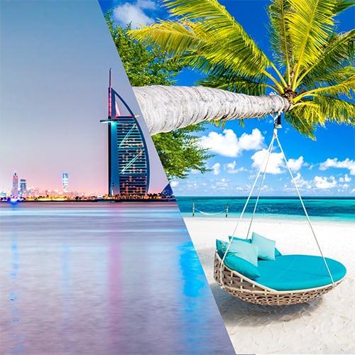 Dubai & Maldives merged