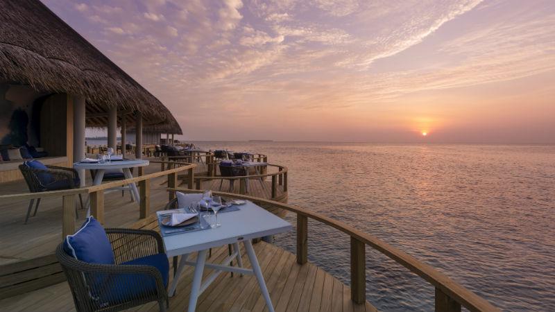 Eclipse Sunset Dining, Centara Ras Fushi Resort