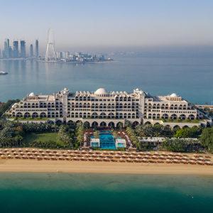 Aerial view of Jumeirah Zabeel Saray
