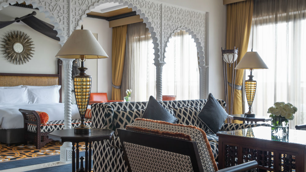 Junior Ocean Suite at the Jumeirah Al Qasr