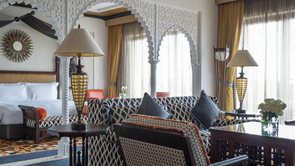 Junior Ocean Suite at the Jumeirah Al Qasr