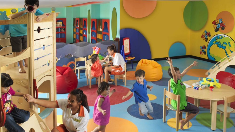 Kids Club at the Anantara The Palm Dubai