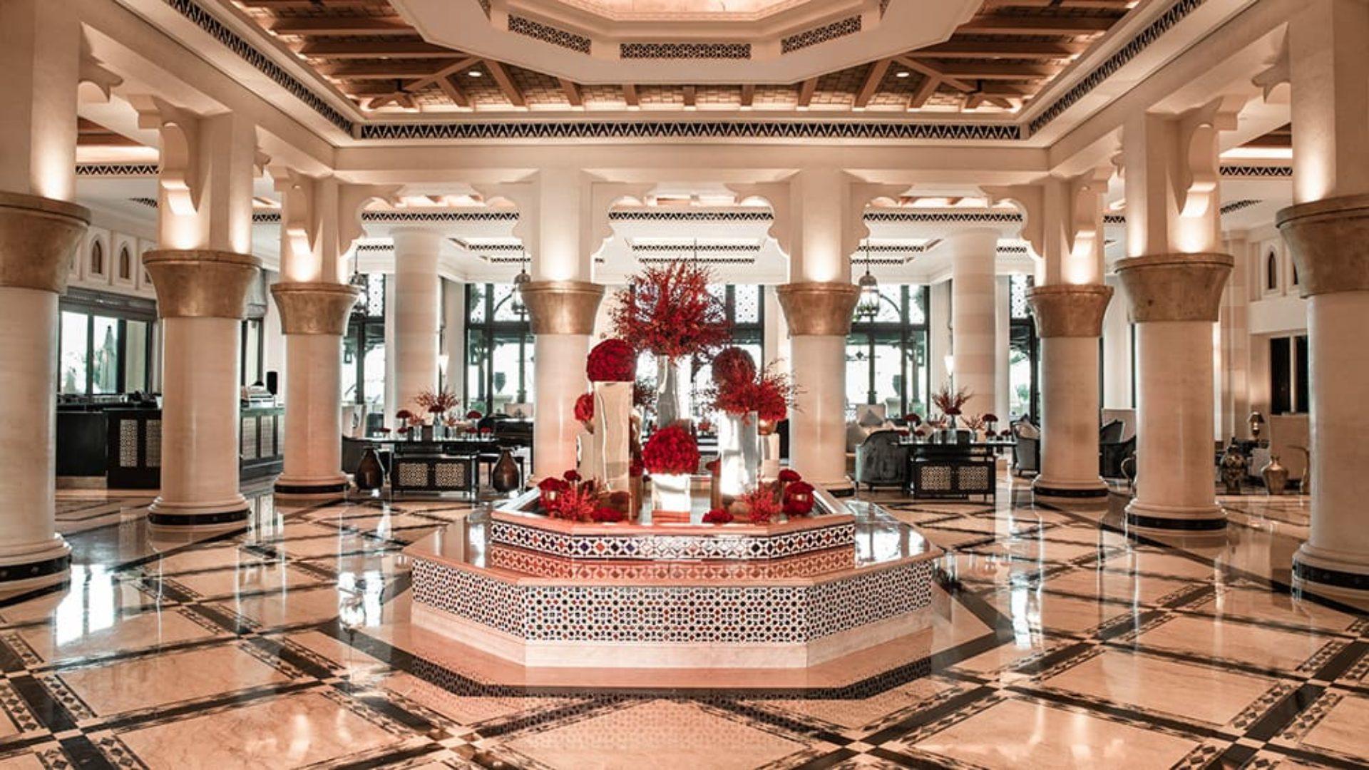 Lobby of Jumeirah Mina A'Salam
