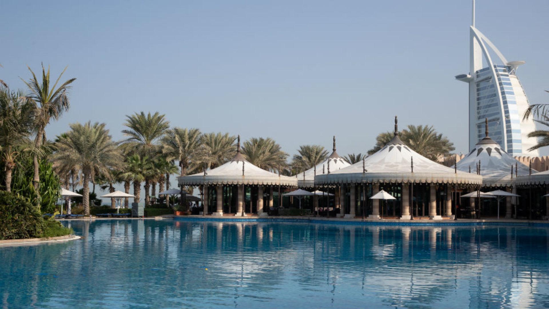 Main Pool at the Jumeirah Al Qasr