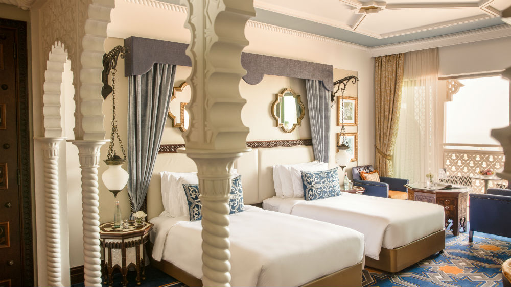 Ocean Deluxe Twin at the Jumeirah Al Qasr
