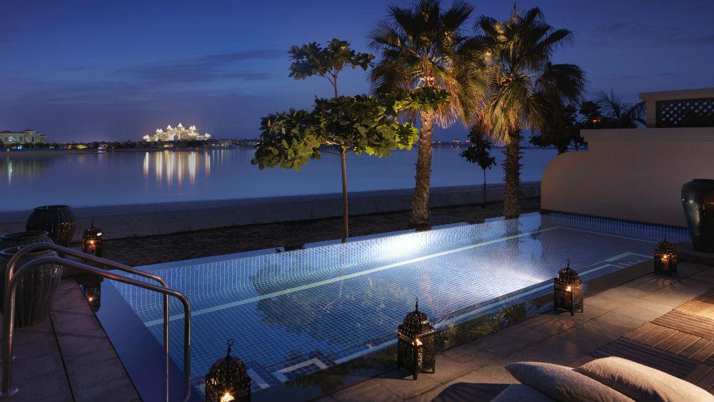 One Bed Beach Villa Pool at the Anantara The Palm Dubai