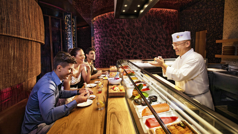 Sushibara the Atlantis The Palm
